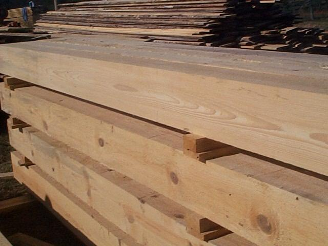 Character Grade New Heart Pine From Southern Yellow Direct Image